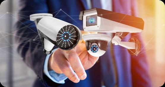 Smart Camera Surveillance Graphic