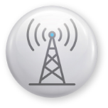 Microwave Internet Tower Icon