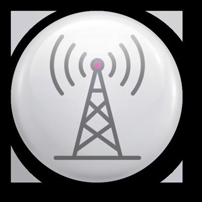 Microwave Internet Icon
