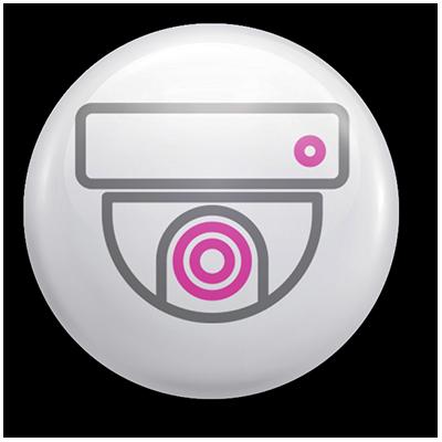 Smart Camera Surveillance Icon