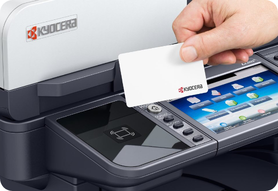 Managed Print Services Printer With Access Card