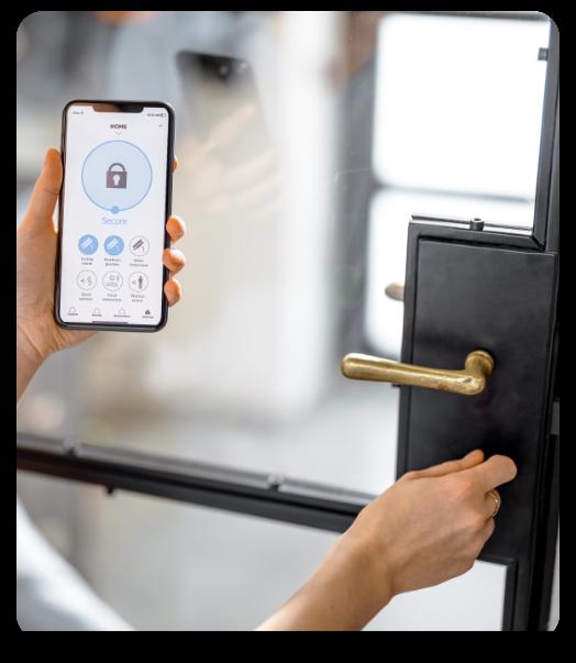 Biometric Access Control Door